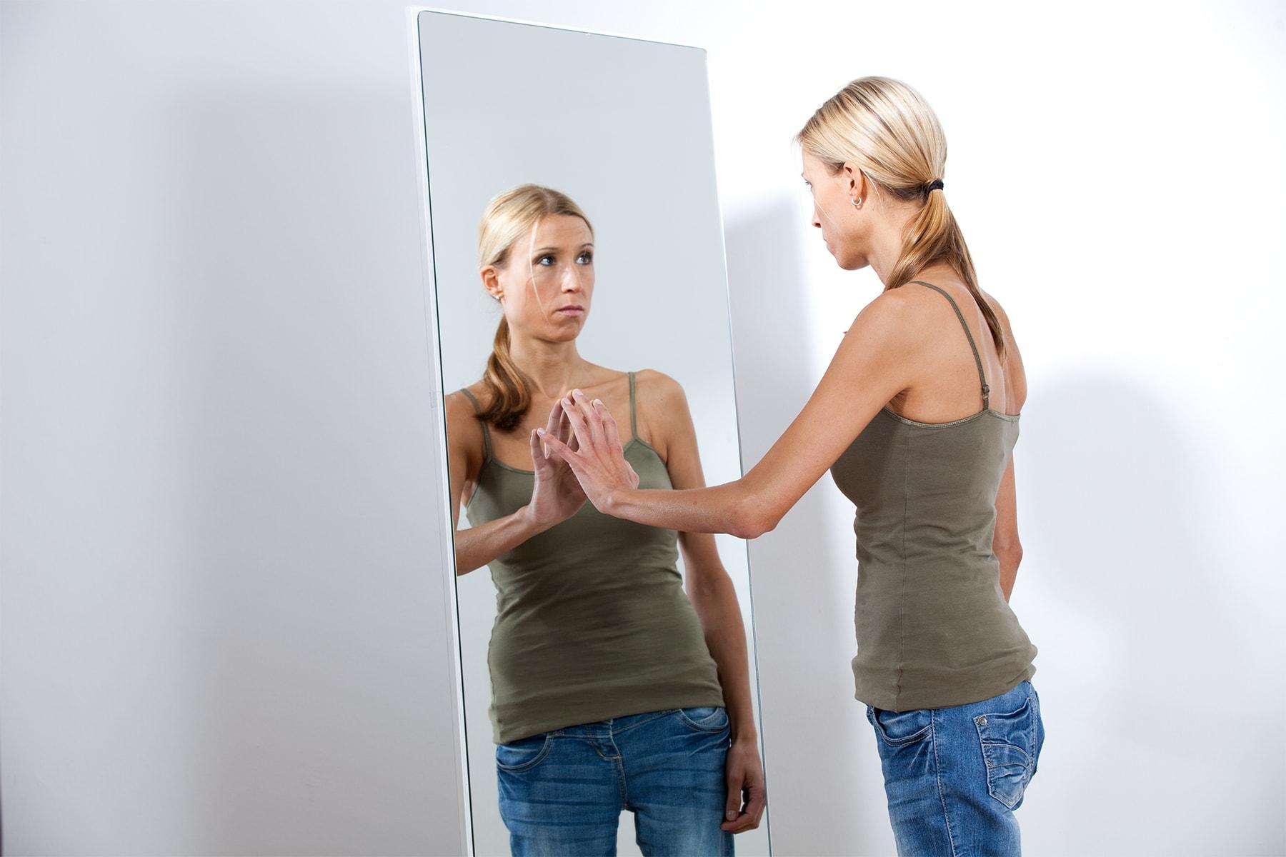 Magersucht Spiegel